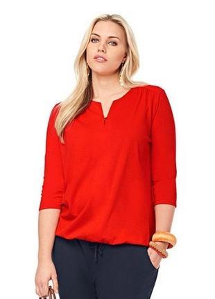 Яркая и элегантная блузка, кофта от tcm tchibo, германия, р-р 48-50 евро