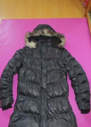 Зимнее пуховое пальто peak