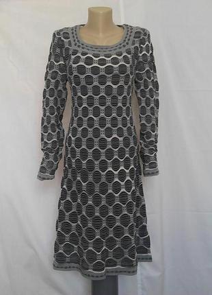 Роскошное платье,люкс бренд, вязаное missoni