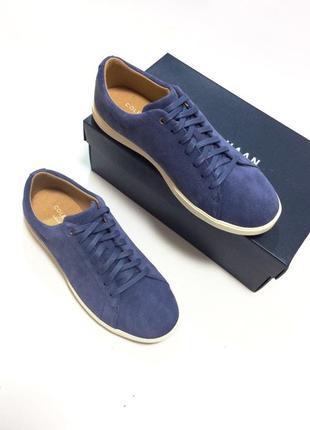 Небесно-синие туфли из натуральной замши ( оригинал из сша 🇺🇸)