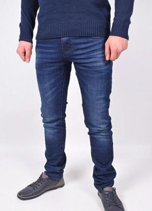 Мужские джинсы зимние на флисе ls. luvans