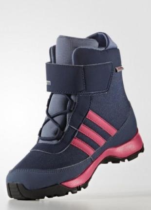 Детские ботинки adidas adisnow kids артикул aq4130 размер 28-35
