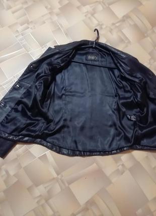 Женский кожаный пиджак4