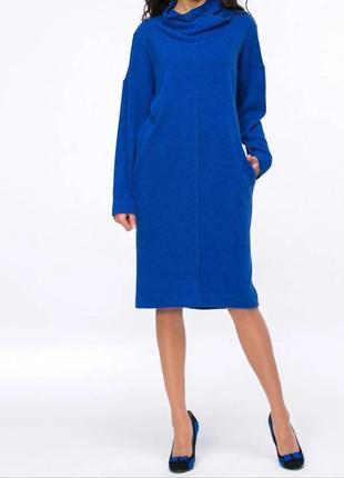 Платье синее jet, размер 50-52