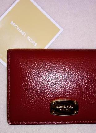 Новый кожаный кошелек michael kors (оригинал)