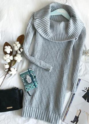 Zara, теплое платье - свитер