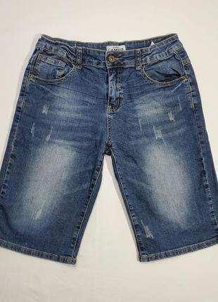 Брендовые джинсовые шорты на мальчика campus