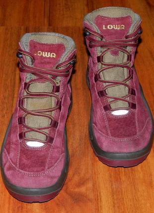 Lowa! оригинальные, кожаные, невероятно крутые термо ботинки1
