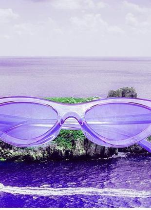 Очки.солнцезащитные очки.имиджевые очки.очки кошачий глаз.cateyes очки