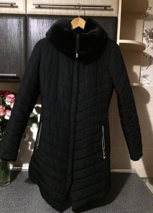 Асиметрична куртка чорна