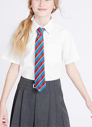 Новые школьные рубашки блузки на девочку george р. 14-15 лет. рост 164-170см