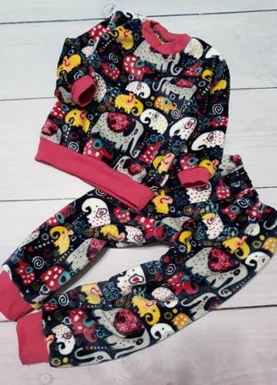 Плюшевая пижама, от 2 до 14 лет все размеры!