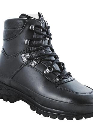 Полностью кожаные зимние треккинговые ботинки берцы mammut colorado p.43-44