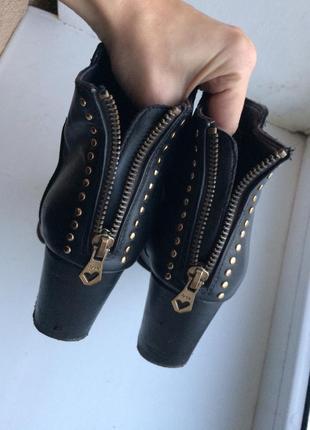 Ботинки/ ботильоны на каблуке3