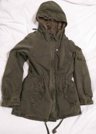 Зимняя курточка zara
