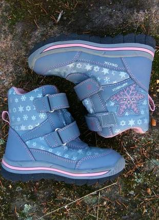 Geox (27) сапоги / ботинки (термо) ❄️