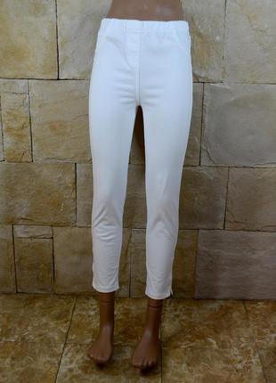 Акция 1+1=3! идеальные белоснежные джинсы джеггинсы next