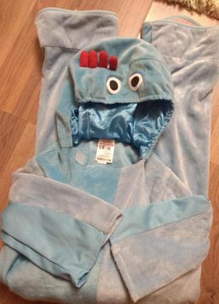 Карнавальный меховой костюм инопланетян для ребенка 2-3годика