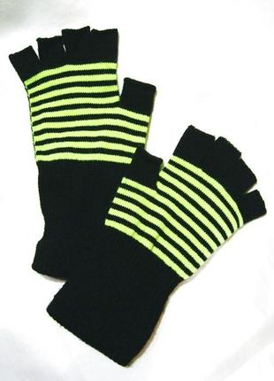 Митенки перчатки без пальчиков