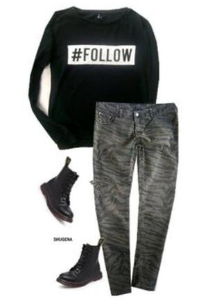 Модные джинсы размер 48-50