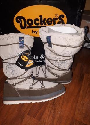 Зимние теплые сапоги dockers 41