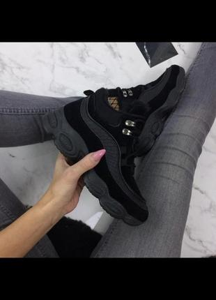 Кроссовки ботинки на меху 37 р