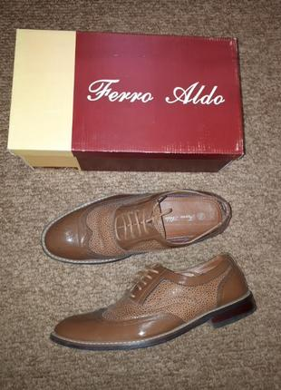 Шикарные туфли  ferro aldo 10.5