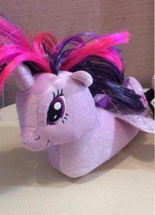 Тапочки my little pony, единорог, р. 24 - 27