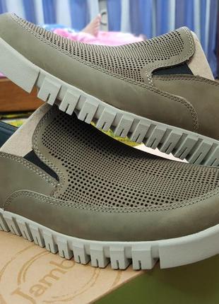 Jambu оригинал  новые 43 ст.28 кожаные лоферы  туфли