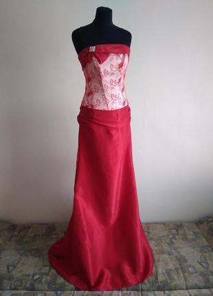 Медея. шикарное вечернее платье для выпускного, свадьбы