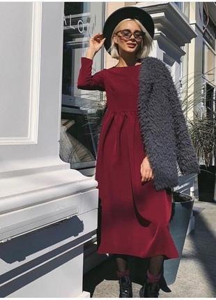 Трендовое платье миди