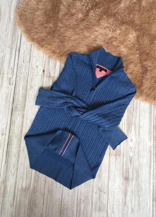Стильный свитер с косами tommy hilfiger