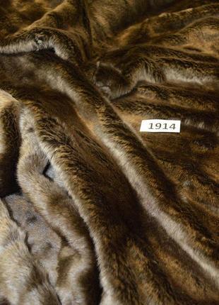 Оригинальное меховое одеяло от бренда cos разм. one size