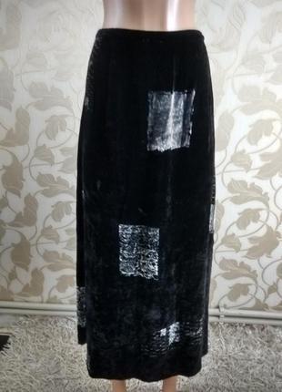 Laura ashley  велюровая юбка (оригинал)