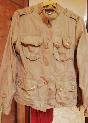 Котоновый пиджак1