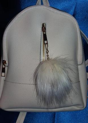 Маленький рюкзачок с бомчиком