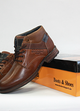 Мужские ботинки dockers оригинал натуральная кожа 40-46р