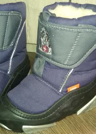 Зимние ботинки фирма demar