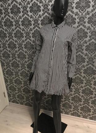Страшно крутое  платье -рубашка