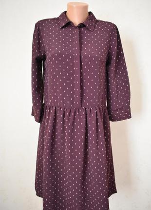 Красивое платье-рубашка с принтом next