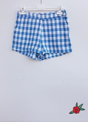 Короткие шорты boohoo маленький размер стильные шорты букле
