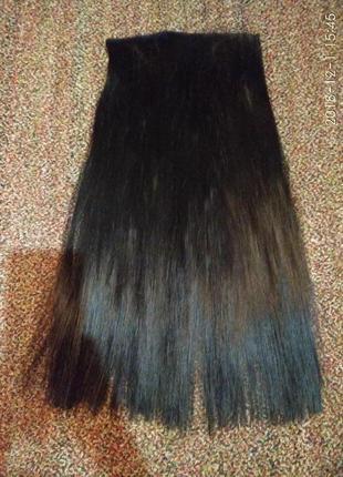 Затылочная прядь волос термостойкие