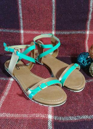 Босоножки-сандалии plato, на тракторной подошве 38 (24,5 см)