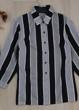 P xxl красивая рубашечка, блуза в полоску !
