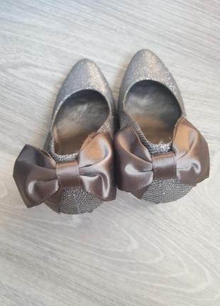 Новые нарядные праздничные туфли 36 40 размер кожаные яркие красивые