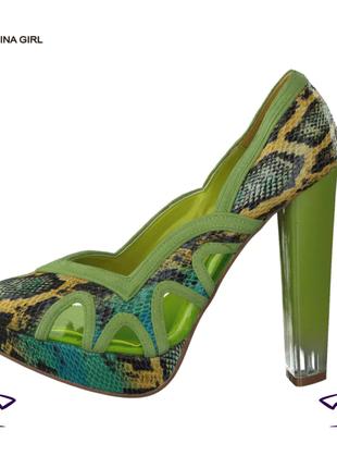 China girl новые яркие нарядные женские кожаные брендовые туфли 35 36 37 38 39 40