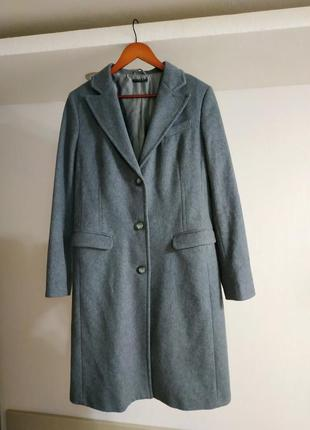 Пальто шерсть sisley