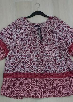 Пог 77 см красивая блуза !