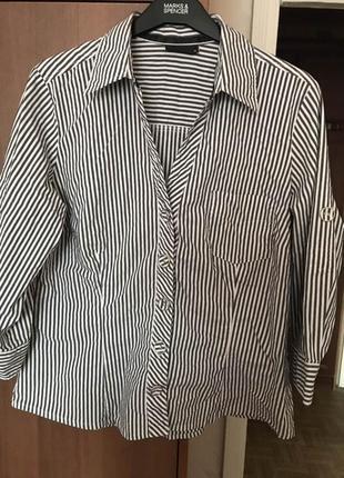 Шикарная рубашка от next 16-18 размера