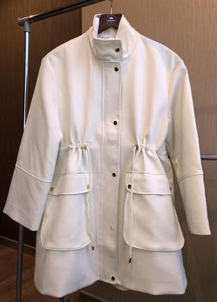 Пальто демисезон размер xs оверсайз h&m